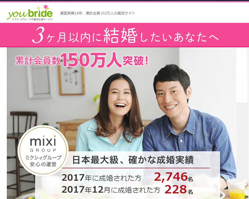 ユーブライドの評判ってどう?女性無料で登録出来る婚活サイト